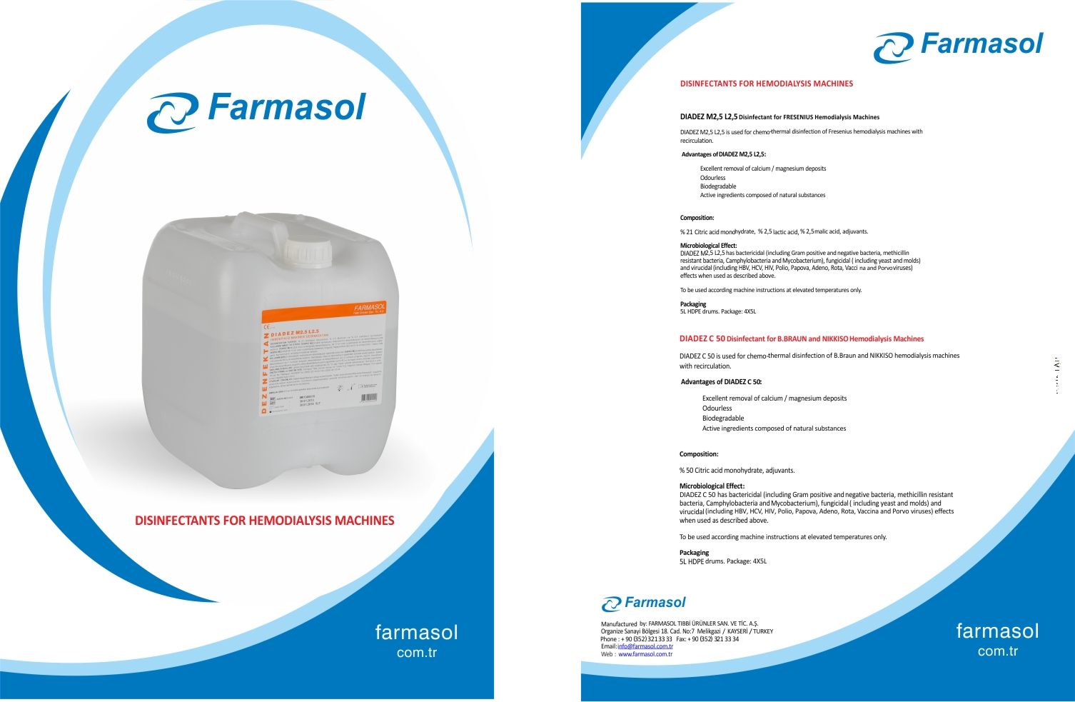 Diadez C 50 Disinfectant Brochure